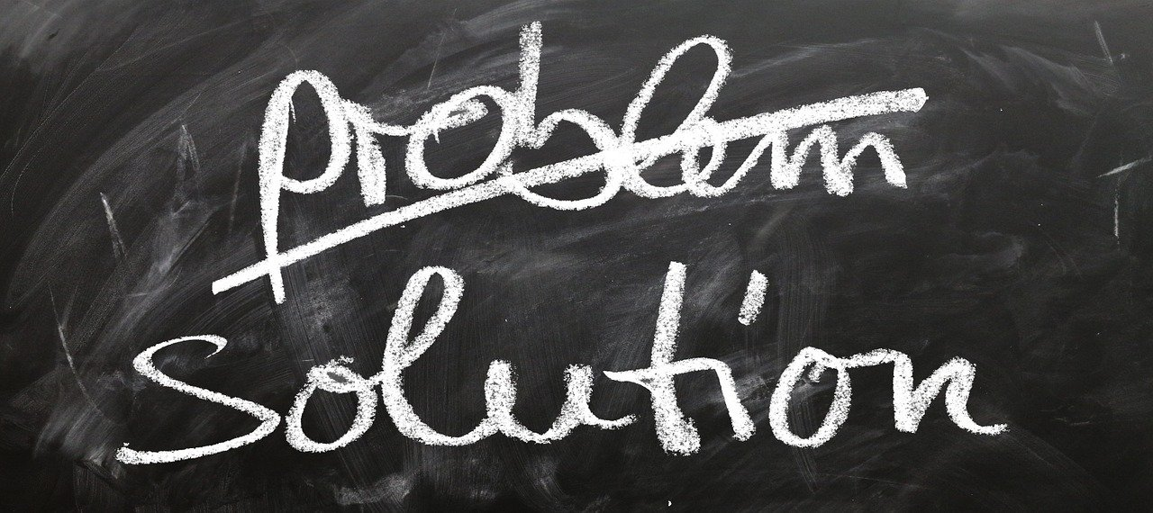 words saying problem solution